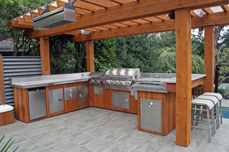 Bon These DIY Outdoor Kitchen Plans Turn Your Backyard Into Entertainment Zone