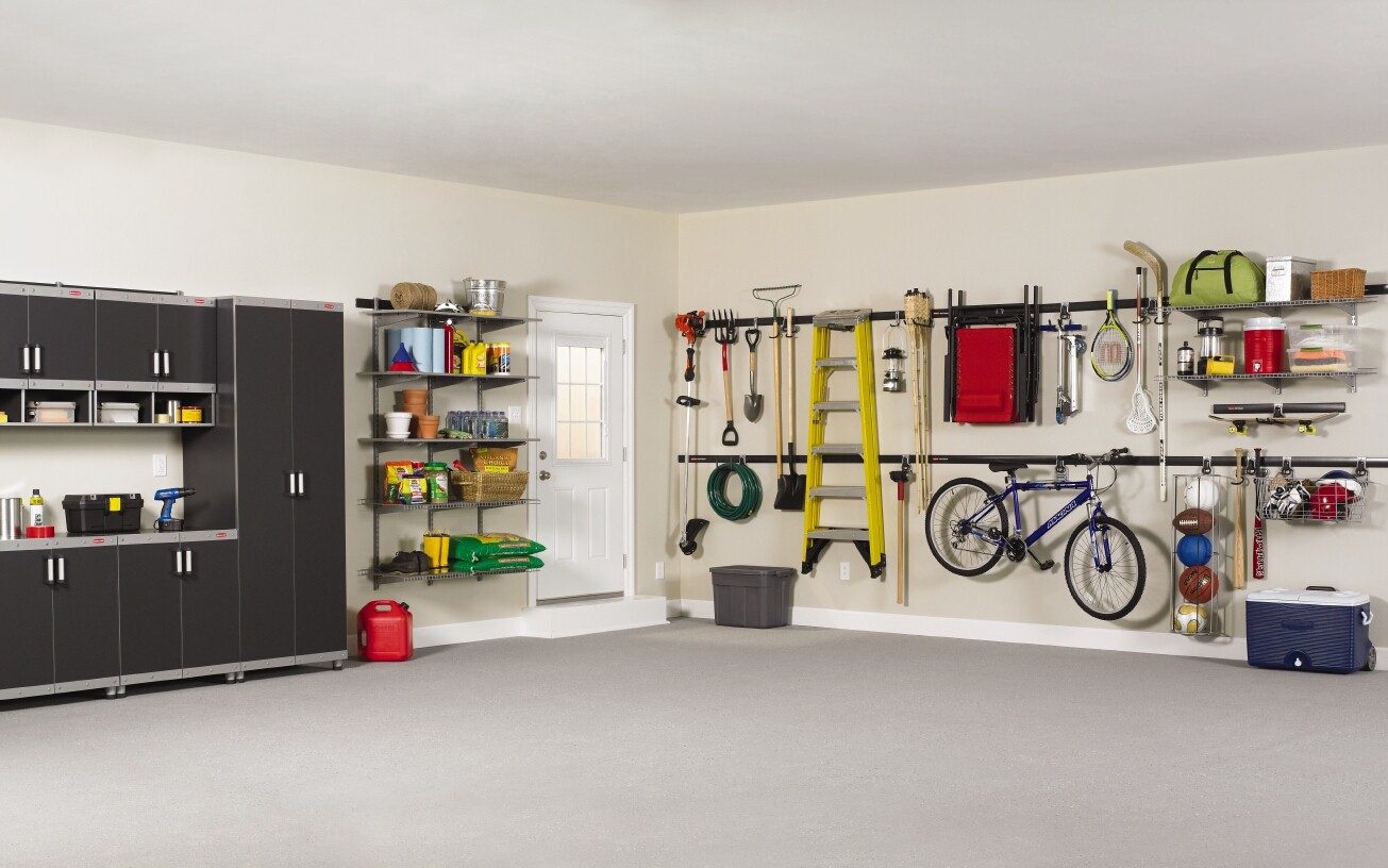 diy garage makeover ideas