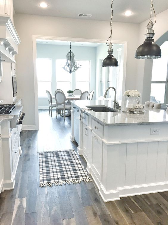 Insanely clever home remodeling ideas seek diy for Farmhouse style kitchen rugs