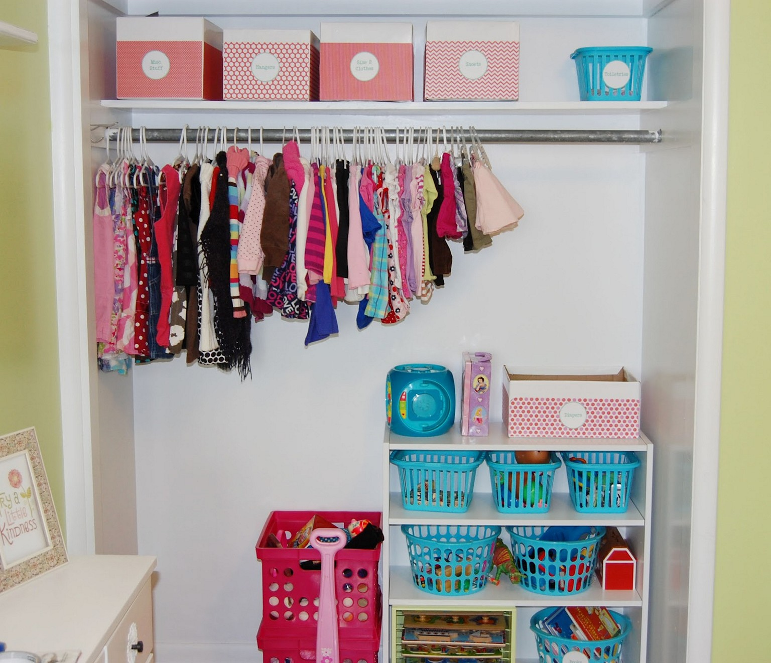Bon Top Kids Clothes Storage Ideas